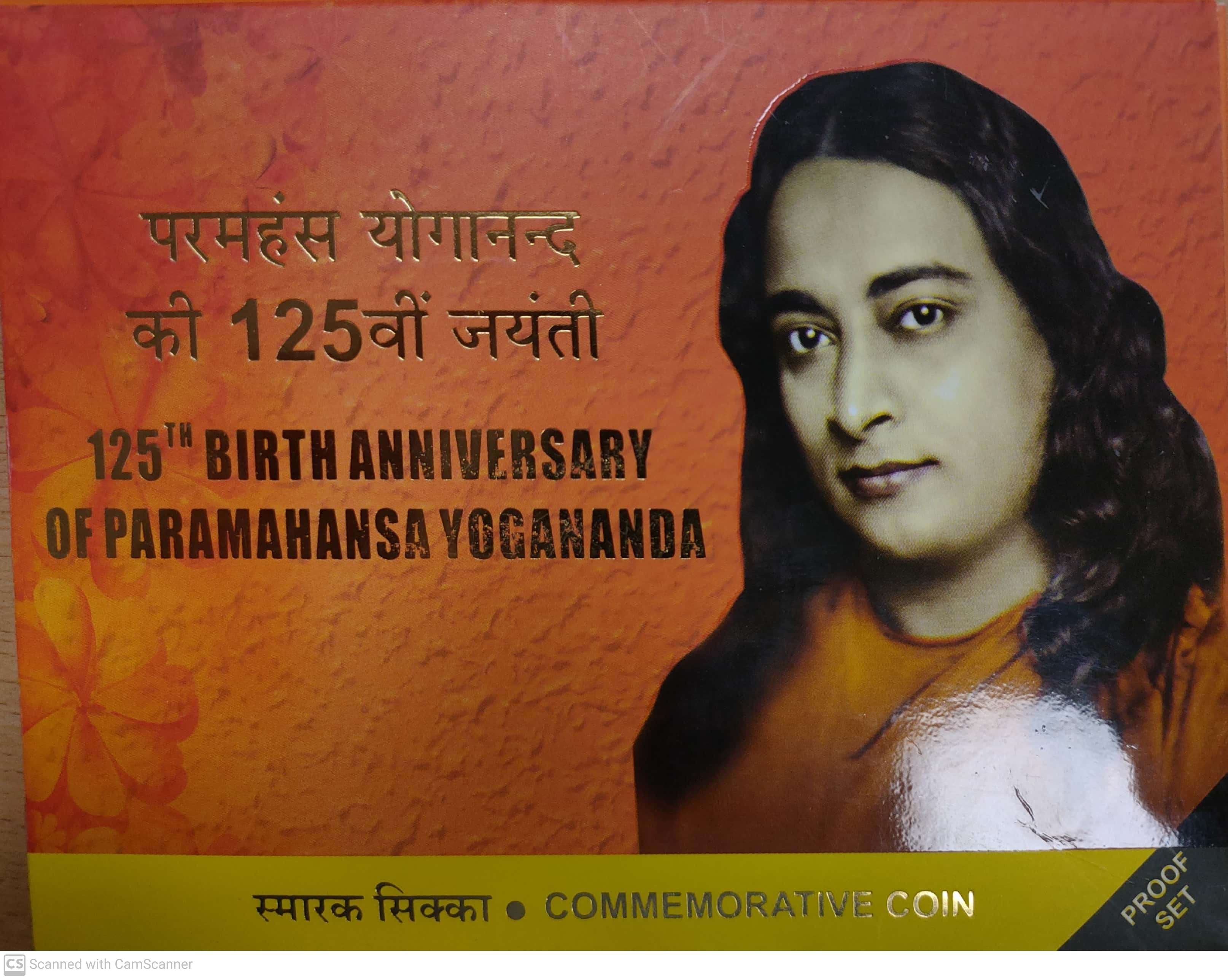 125th BIRTH ANNIVERSARY OF PARAMAHANSA YOGANANDA